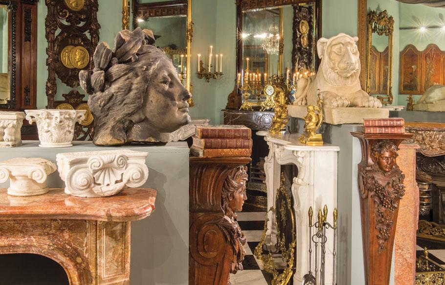 Westland London | Antique Fireplaces & Architectural Antiques