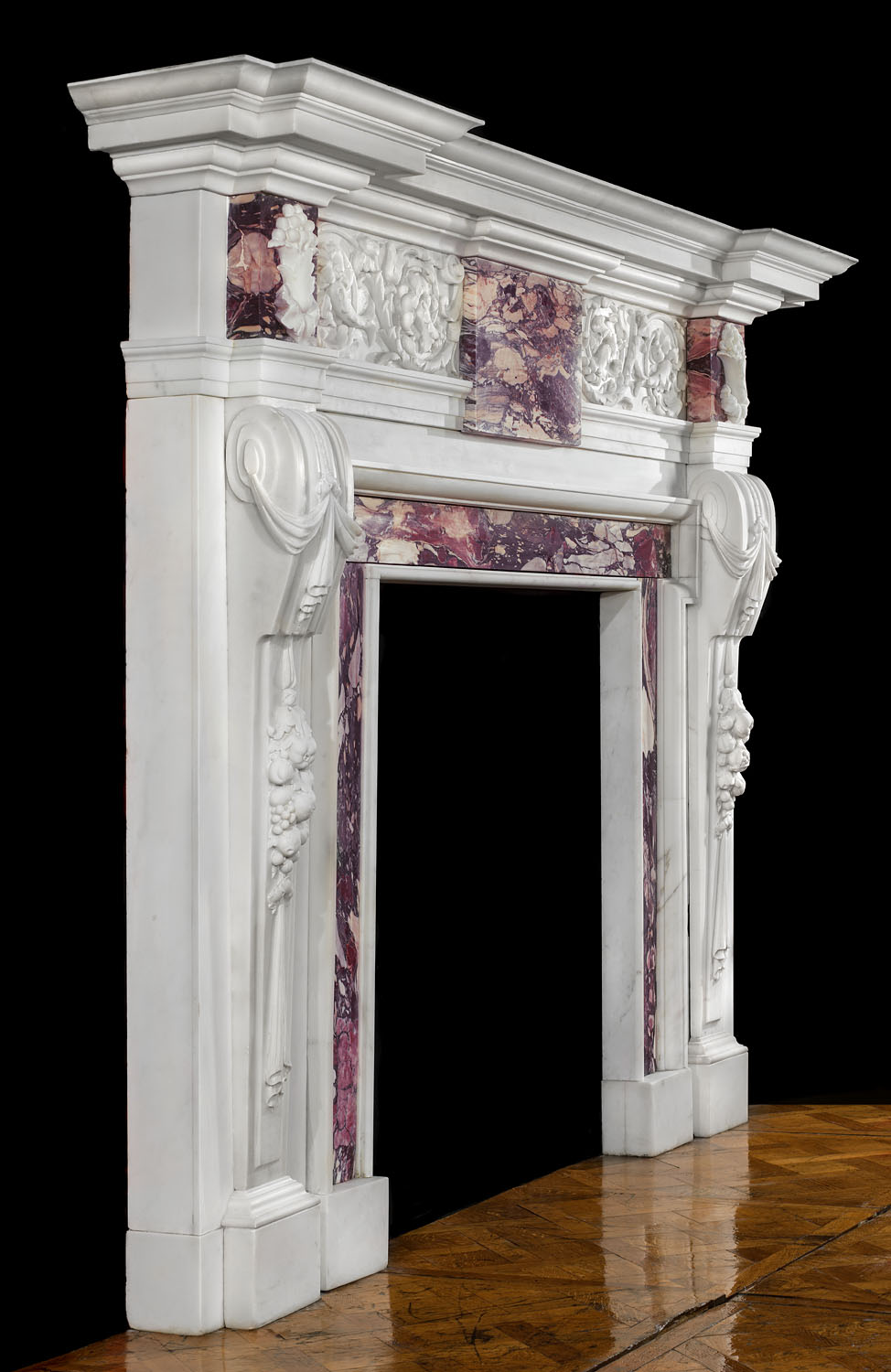 Palladian Marble William Kent Fireplace Westland Antiques