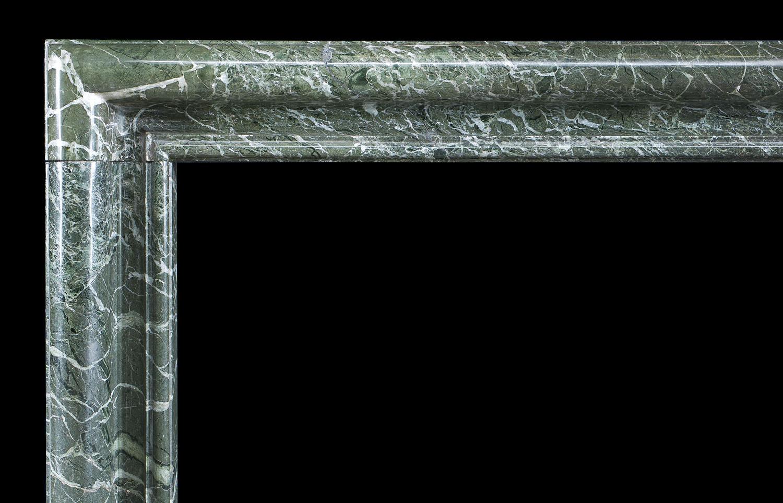 Green Marble Bolection Antique Chimneypiece Westland