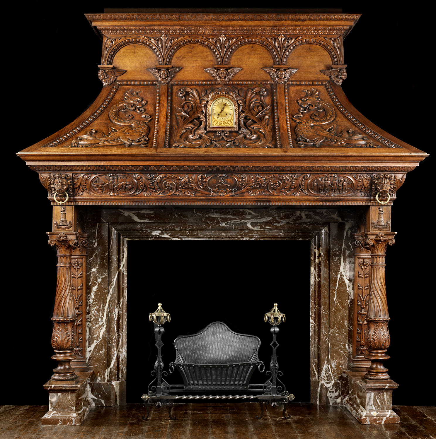Victorian Fireplace: 1000+ Images About Fireplace Surrounds On Pinterest