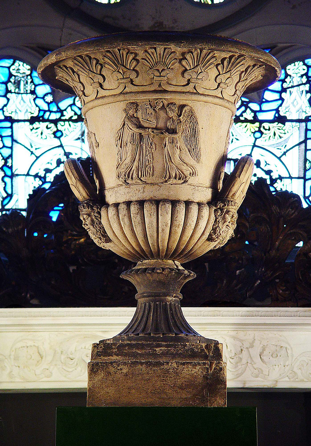 Tterracotta Blashfield Greek Revival Urn Westland London