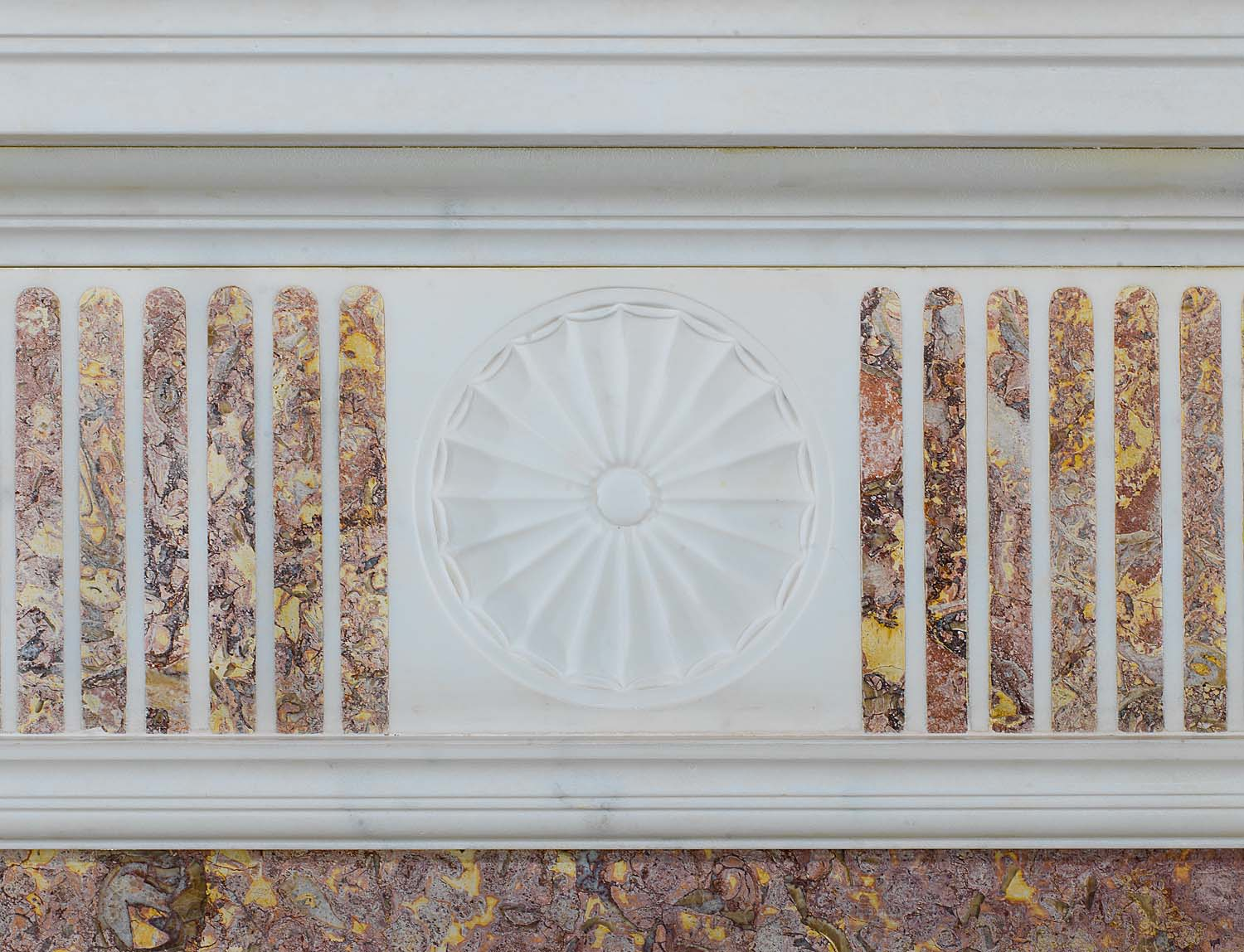 A Statuary Marble Georgian antique chimneypiece