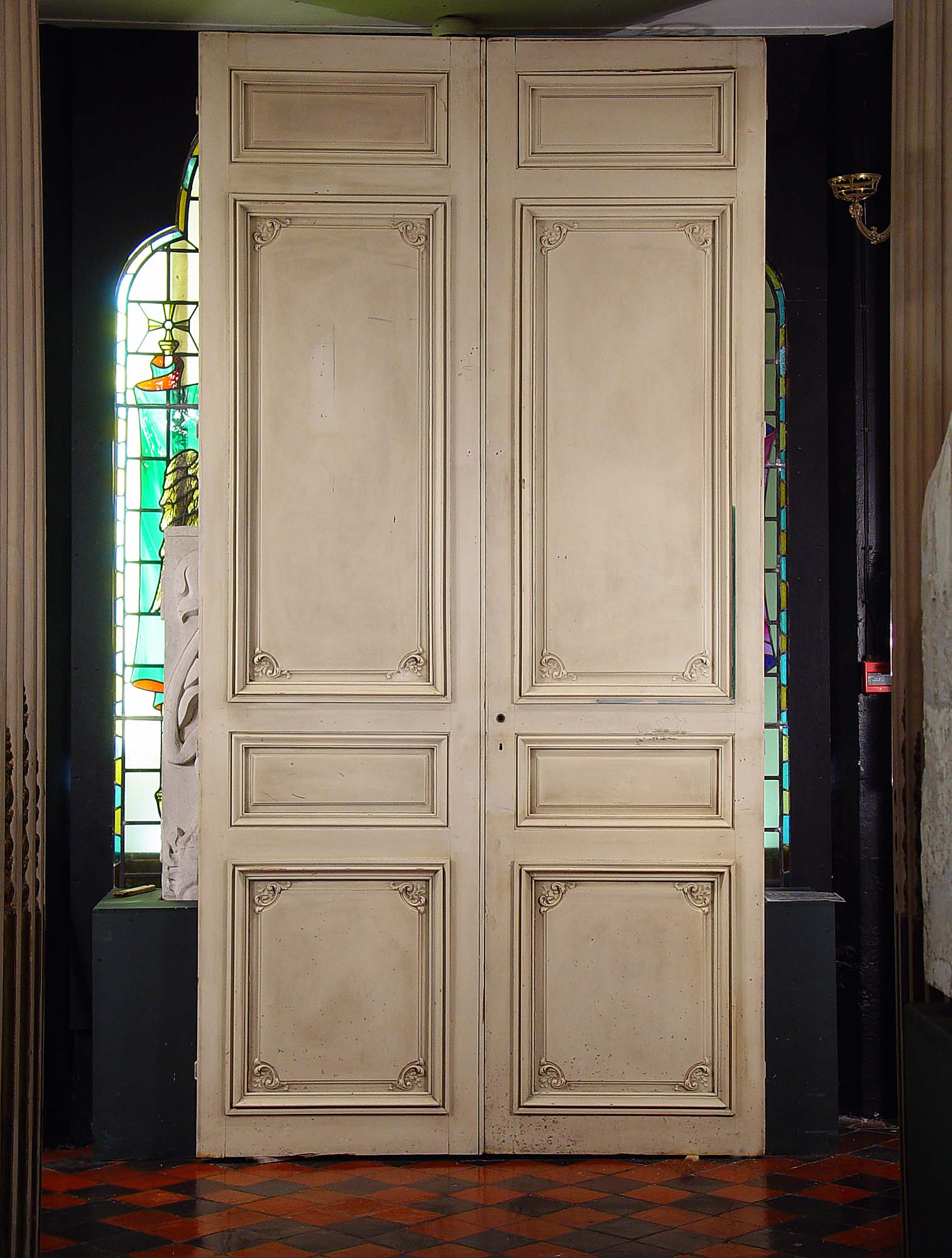 2000 #2AA17F Pair Antique French Doors Louis XVI Style 19 Century..  wallpaper French - French Doors Manufacturers Examples, Ideas & Pictures Megarct