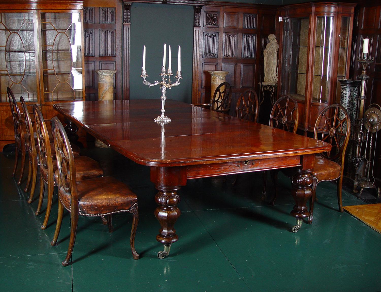 Regency Mahogany Large Dining Table Westland London