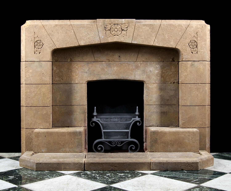 Art Deco Horton Stone Fireplace Mantel Westland London