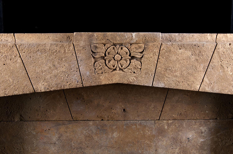 Art Deco Horton Stone Fireplace Mantel | Westland London