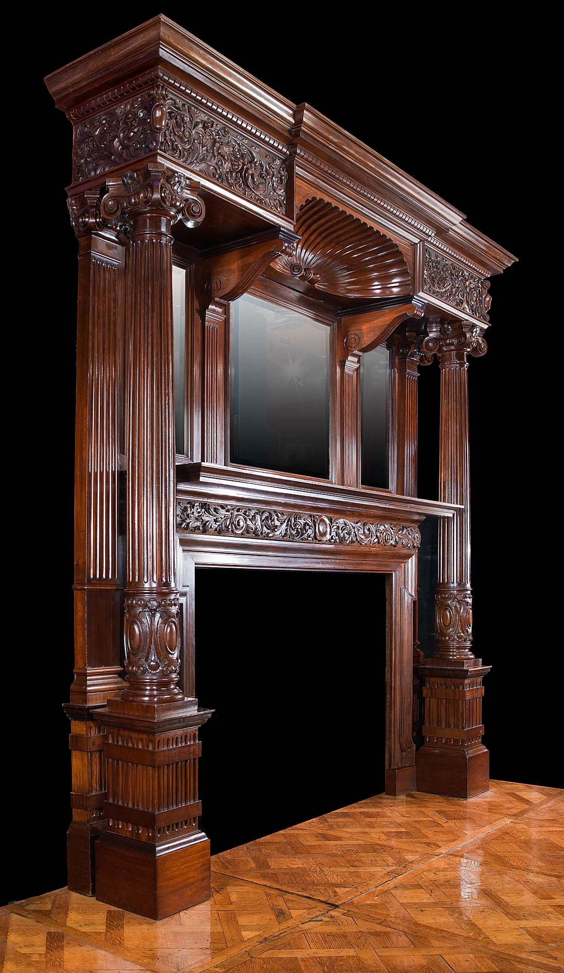 Old Victorian Fireplace Mantels Pictures To Pin On