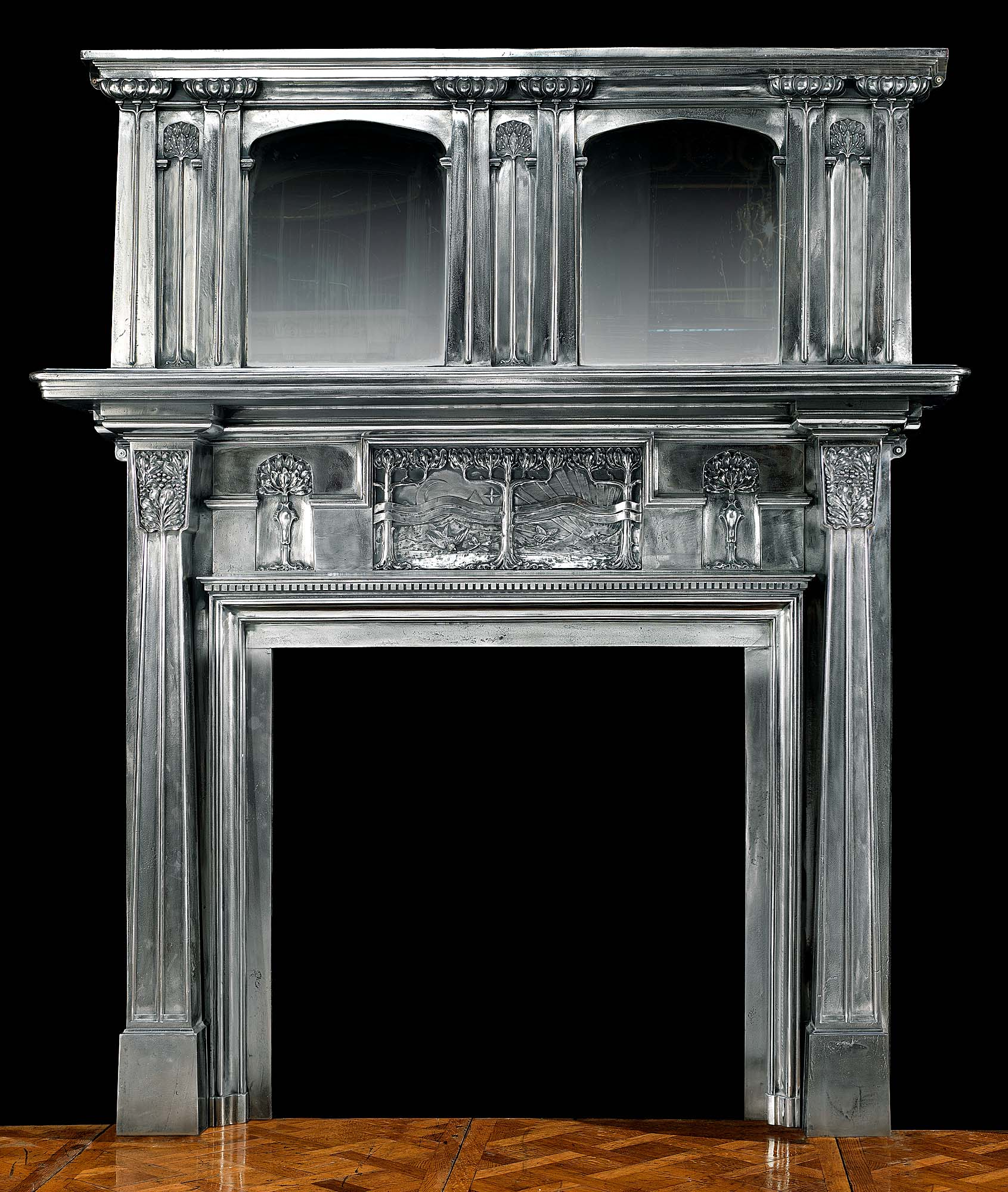 calgary fireplace fireplaces tiled hearths hearth vintage antique chambers oer surround tiles multi beams