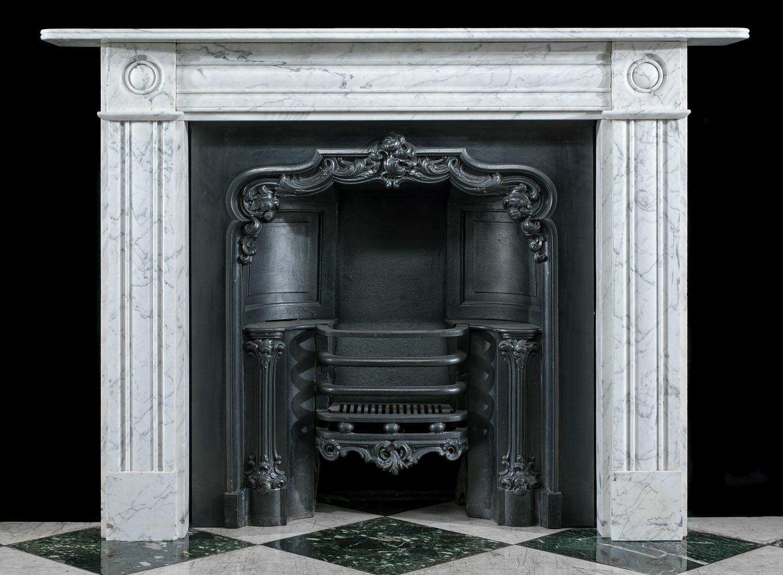 Carrara Marble Victorian Fireplace Mantel Westland London