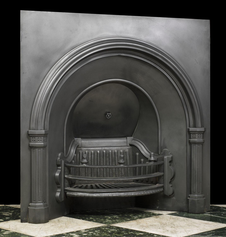 A Victorian Falkirk Fireplace Insert Westland Antiques