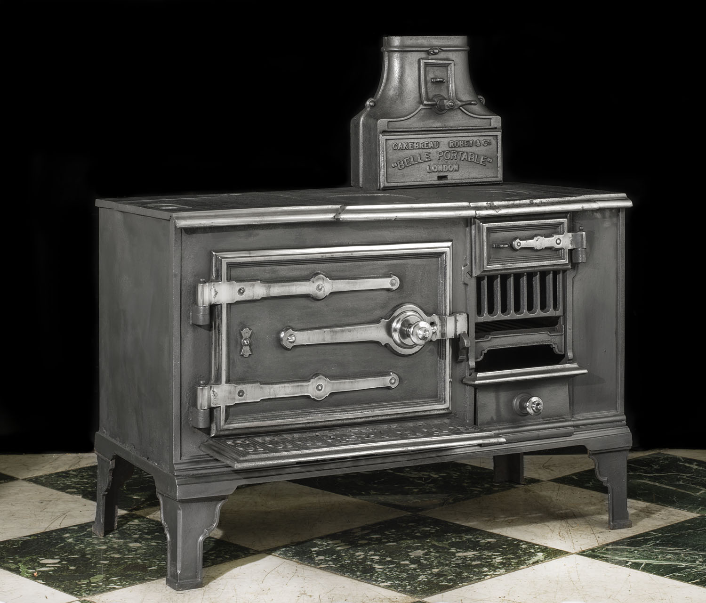 Portable Victorian Antique Kitchen Range Westland London