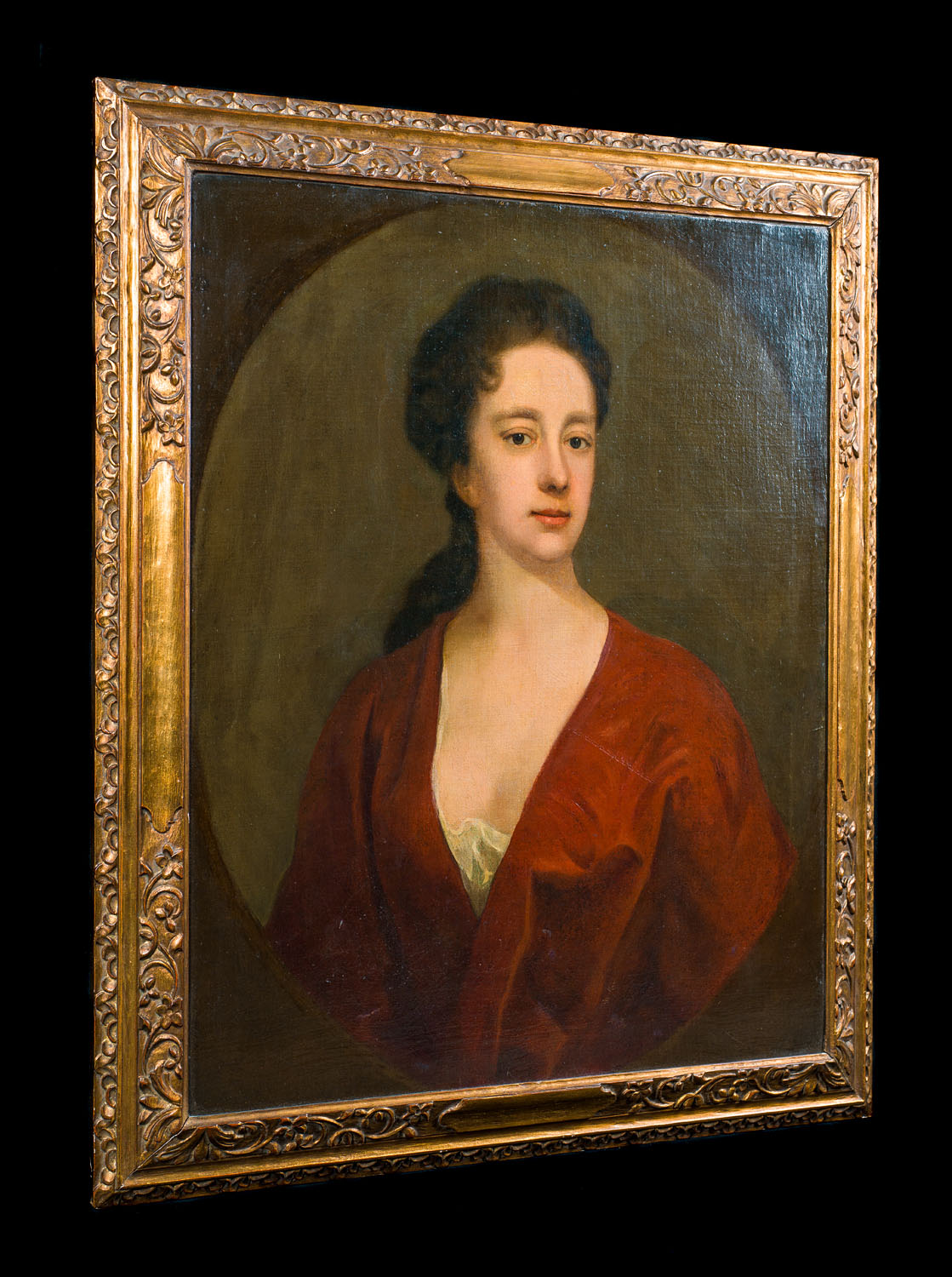 Portrait of a Lady 18th century oil on canvas
