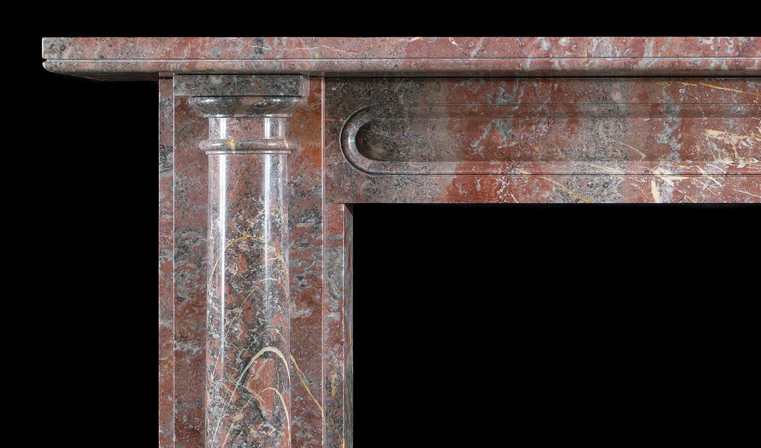Regency Ashburton Marble antique fireplace surround