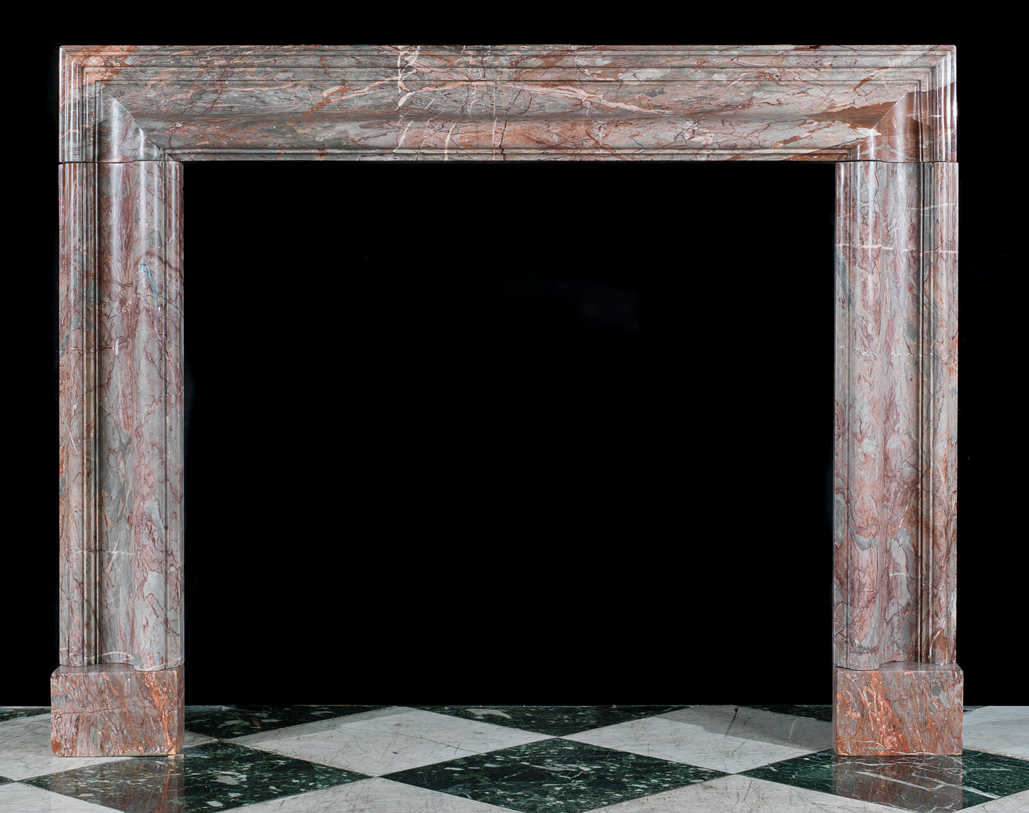 Ashburton Marble antique bolection fireplace