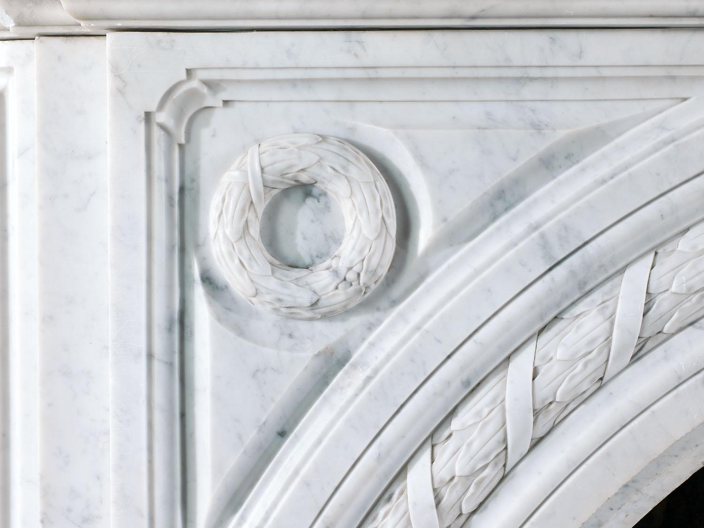 Victorian Arched Carrara Marble Keystone Westland London