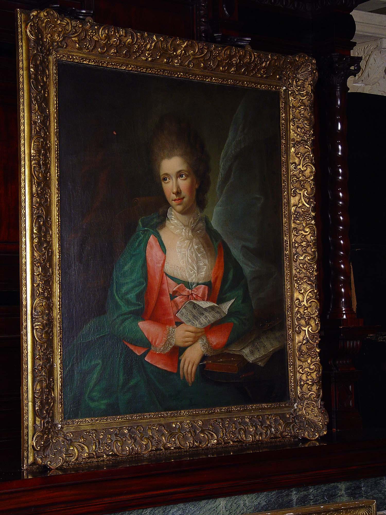 Antique Oil Portrait Painting Tischbein Westland London