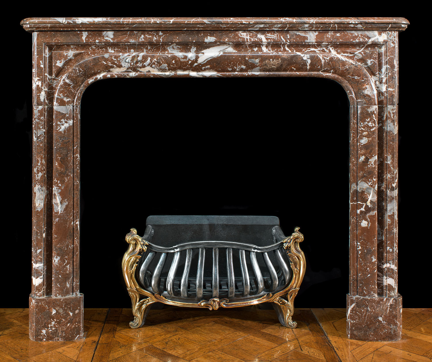A small Louis XIV Antique chimneypiece
