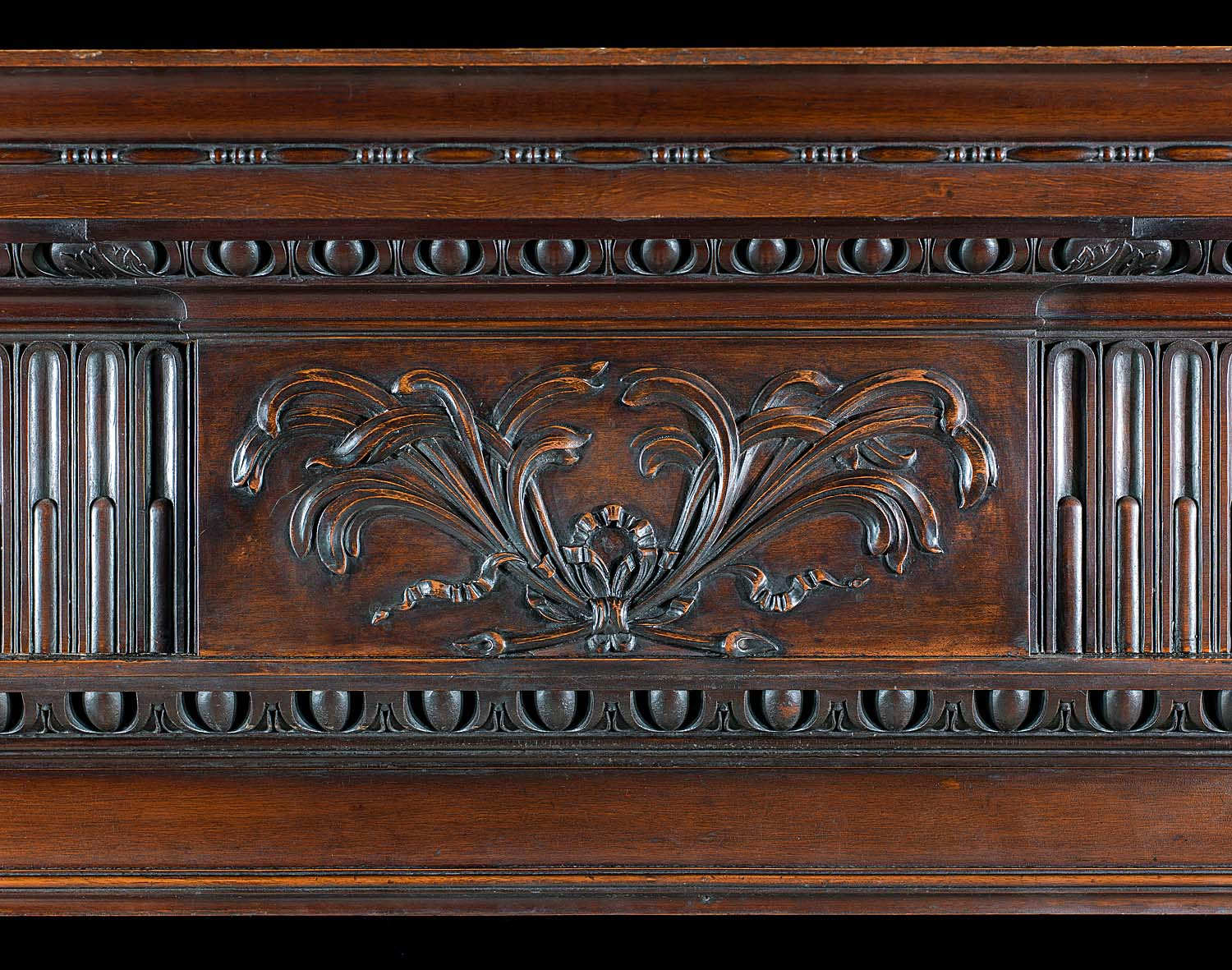 An Antique Georgian style Mahogany Chimneypiece Mantel
