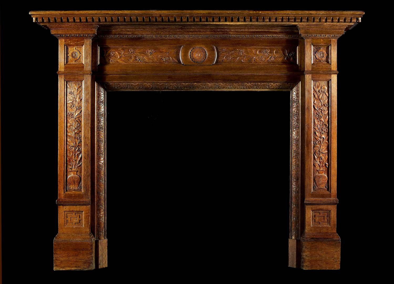 antique fireplace mantel at 1stdibs. early twentieth century ...