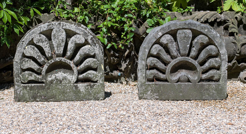 Regency Anthemion Stone Garden Panels Westland London