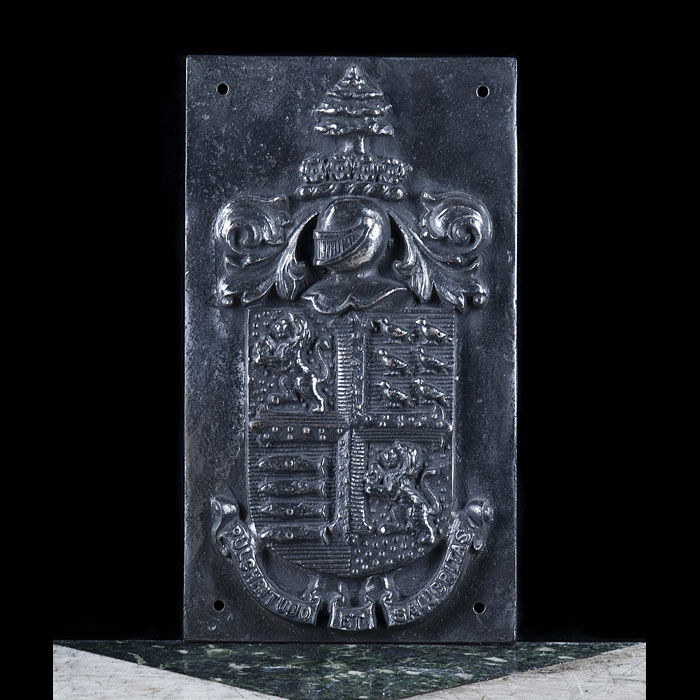 A Cast Iron Bournemouth Council Coat of Arms
