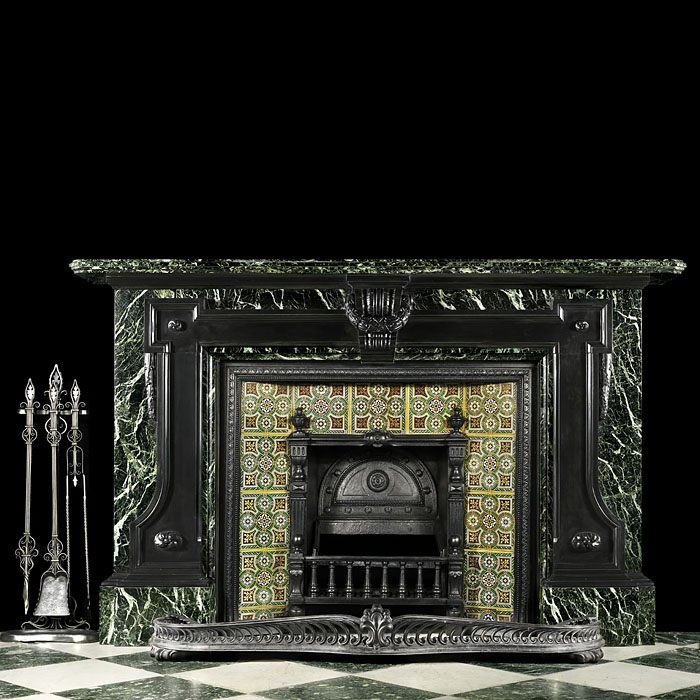 Antique and substantial Mid Victorian fireplace in the Palladian style
