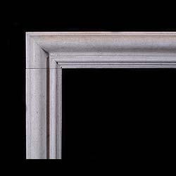 Antique Stone Bolection fireplace mantel