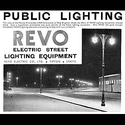 Large pair of cast iron Revo Tipton post mounted street lights