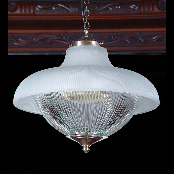 Art Deco 1930s ceiling light