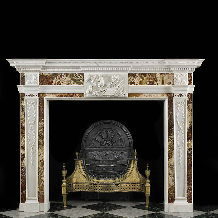 A very fine 18th Century Georgian Marble Chimneypiece