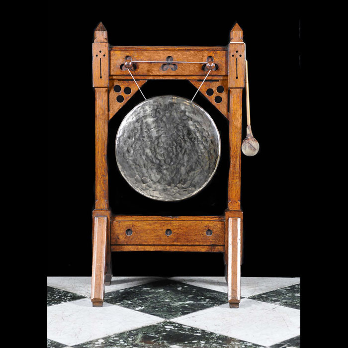 An Antique Arts & Crafts dinner gong