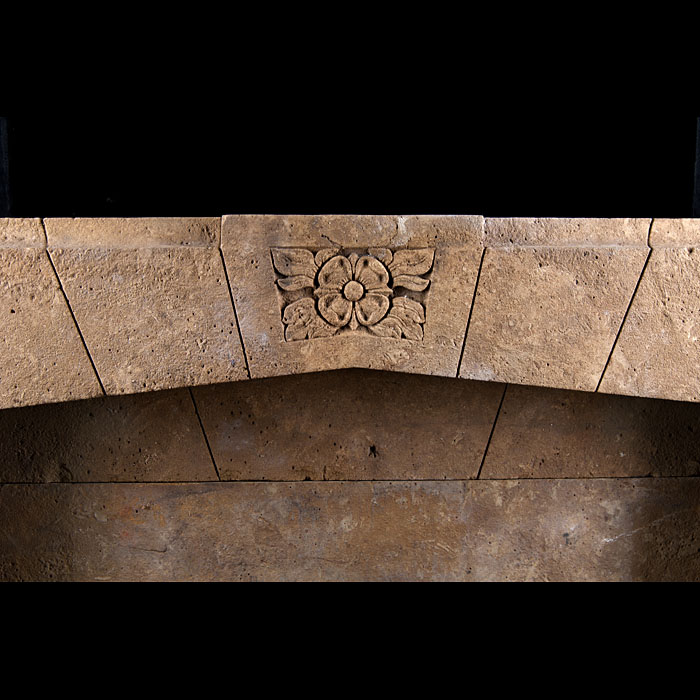 An Art & Deco Horton Stone Fireplace Surround