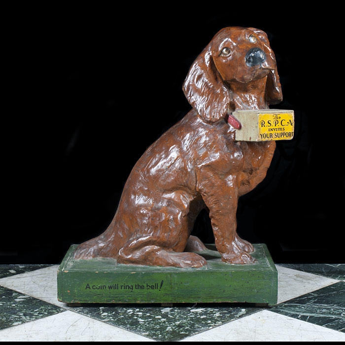 A Victorian RSPCA  Beagle Collection Box