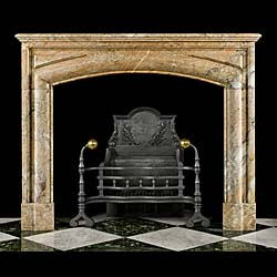 An Antique Louis XIV Baroque style chimneypiece