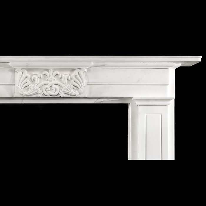 An early 19th century Greek Revival Antique Fireplace Surround