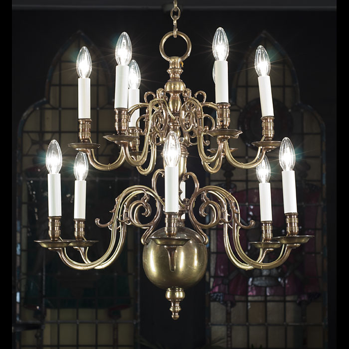 Early 20th Century Baroque Style Chandelier