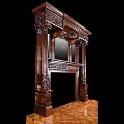 Antique Renaissance Fireplaces Tudor Gothic Fireplaces