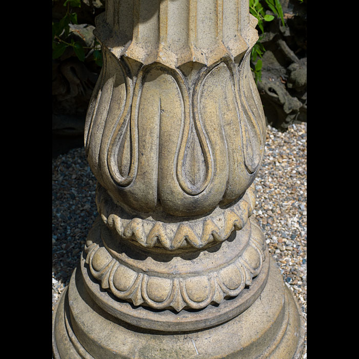 A Garnick Fireclay antique Pedastel column