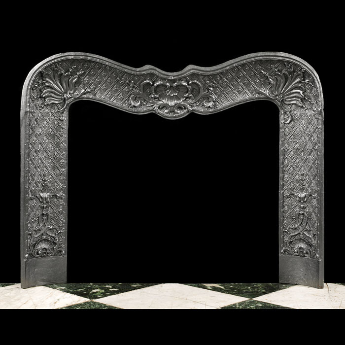 An Antique Louis XV Rococo Style Insert