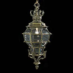 A stylish 20th century Versailles styled lantern