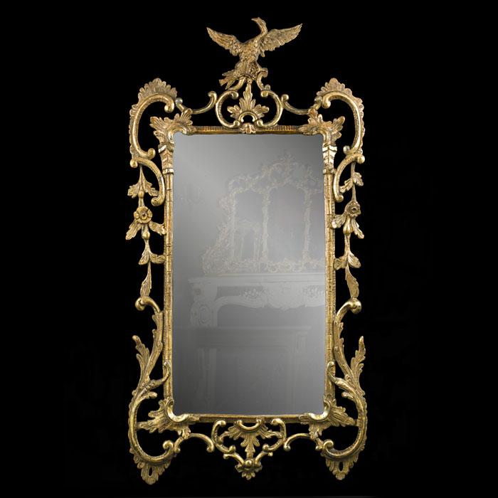 An 18th Century Giltwood Wall Mirror
