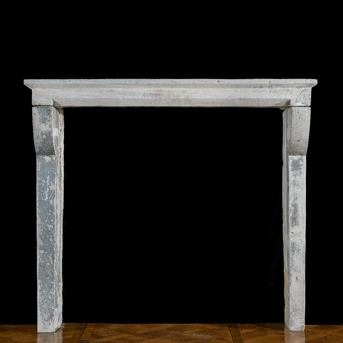A Small Stone French Rustic Fire Surround