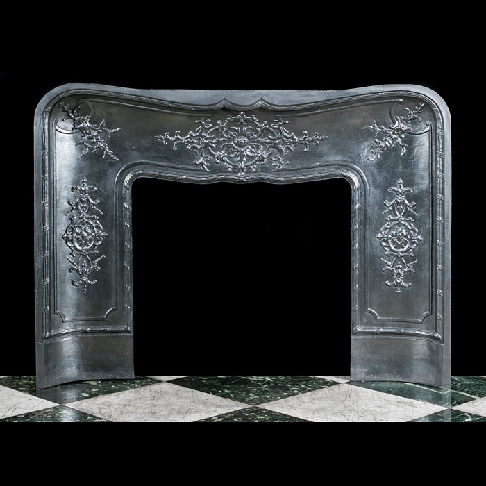 A Louis XV Rococo Fireplace Insert