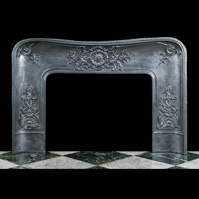 A Large Louis XV Fireplace Insert