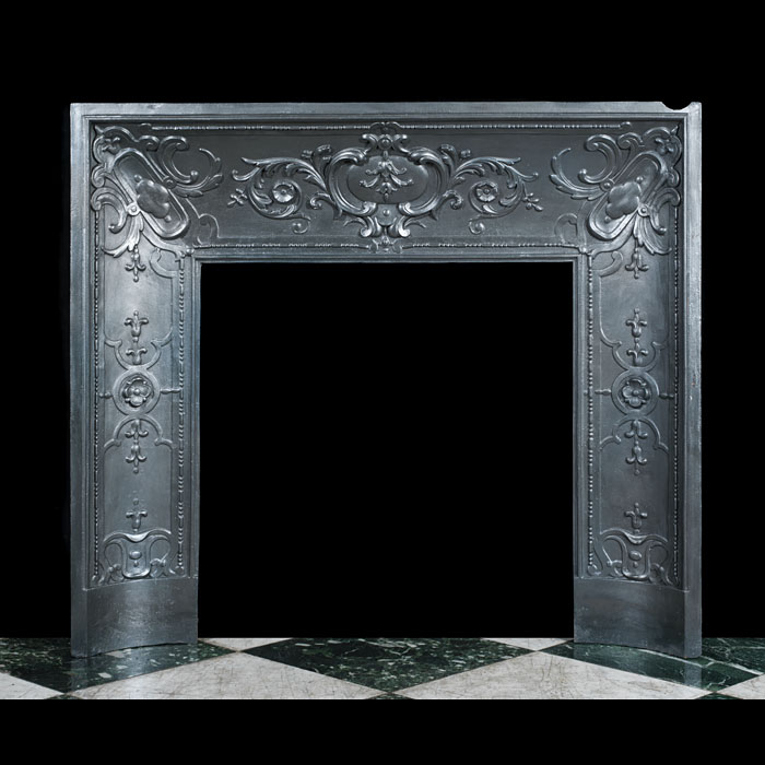 A Louis XVI Style Fireplace Insert