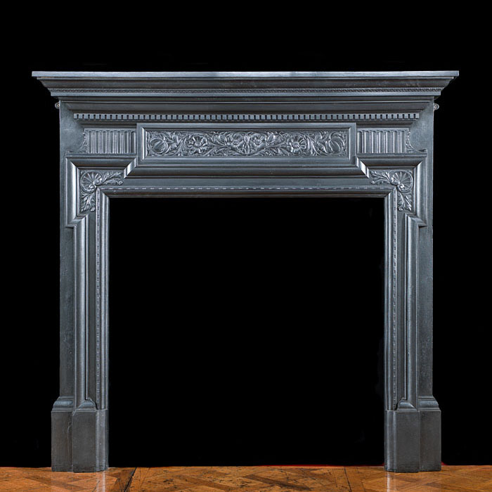 A Victorian Cast Iron Fire Surround