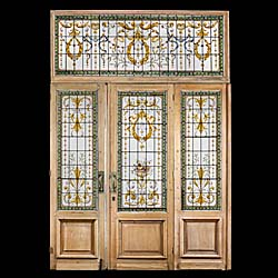 A set of Victorian conservatory doors