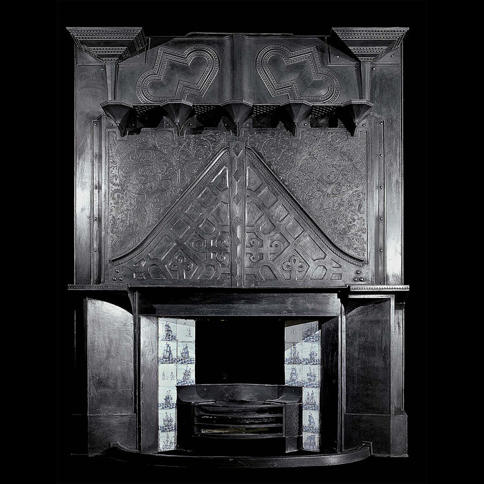 Charles Rennie Mackintosh Arts and Crafts Paisley Glasgow fireplaces mantels .