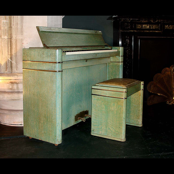 Fine Art Deco upright Eavestaff piano