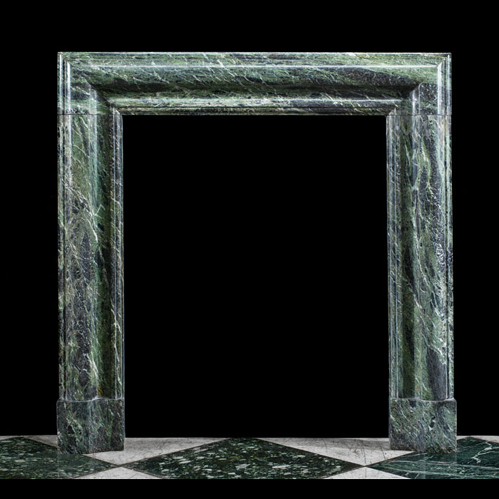 Tinos Green Marble antique Bolection mantel